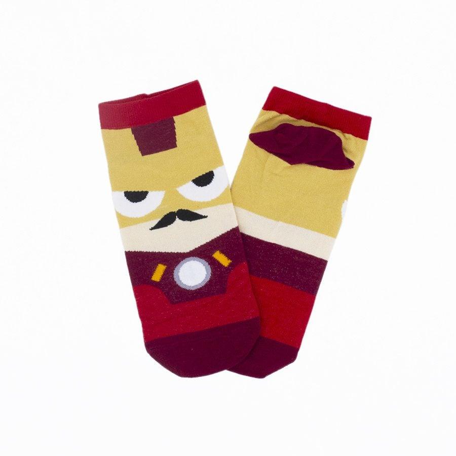 calcetines-ironman-superheroe-plushandbits