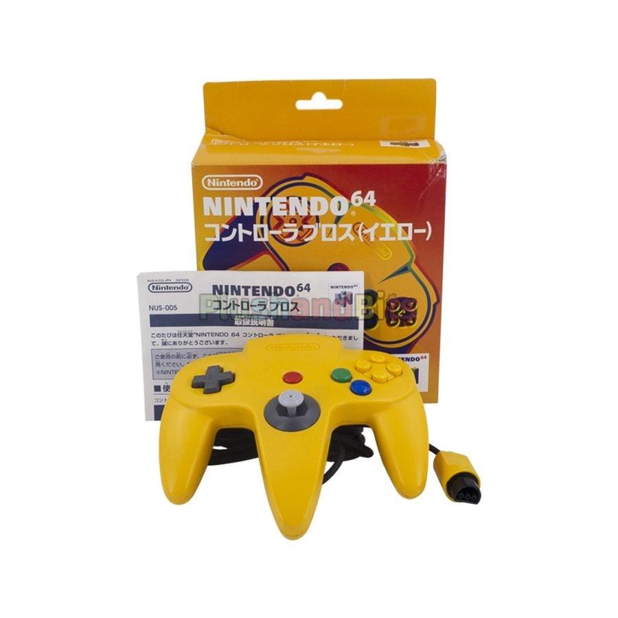 control-nintendo64-bax-amarillo-plushandbits