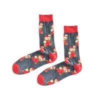 Calcetines Mario Collage Negro – Mario Bros