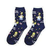 Calcetines Homero Simpson Collage – Los Simpson